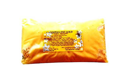 4 X Candipolline Gold Komplette Bienen Nahrung Halbes Kilo Beutel