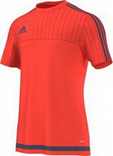 adidas Herren Freizeitbekleidung Trainingsshirt rot