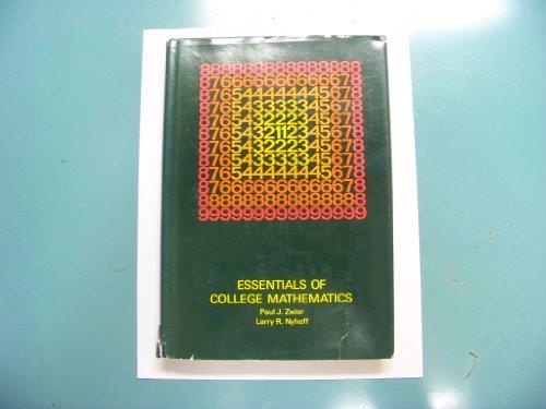 Title: Essentials of college mathematics