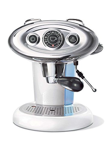 Francis & Francis X7Iperespresso freistehend manuell Maschine Espresso 1.2L 1Tassen weiß-(freistehend, Maschine Espresso Kaffeemaschine, 1,2l, Kaffee Kapsel, 1050W, Weiß)