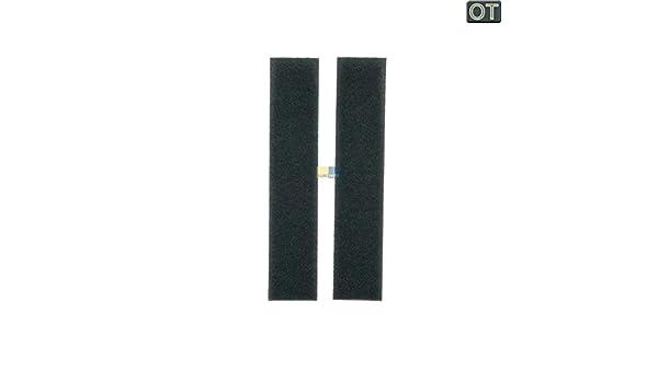 2 x original miele 9688381 9688380 feinfilter filter schaumfilter