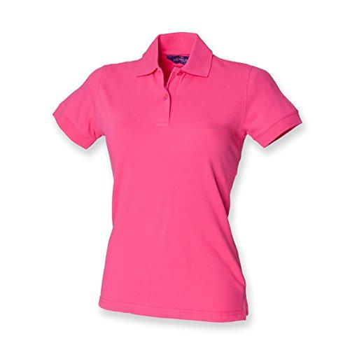 Henbury - Polo -  - Polo - Col polo - Manches courtes Femme Rose - Fuchsia