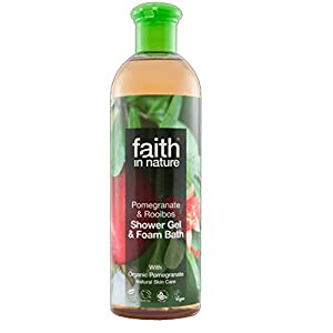 Faith | Pomegranate/Rooibos Bath Gel | 6 x 400ML