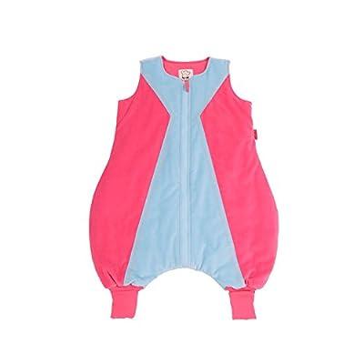 The PenguinBag Company Reina - Saco de dormir con piernas, TOG 2.5, color azul y rosa, talla S