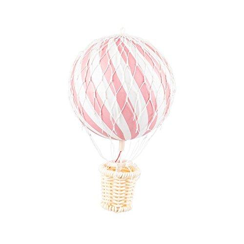 Mobile Korb (Filibabba 10cm Heißluftballon pink - Ein Heißluftballon aus Pappmaché und Holz für die Dekoration des Kinderzimmers)