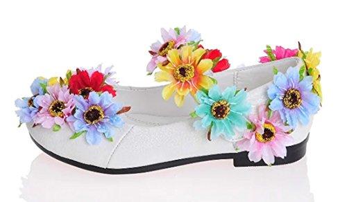 TDA , Sandales Compensées fille Multicolore