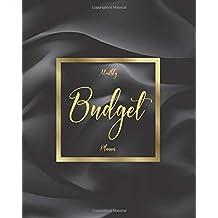 Monthly Budget Planner: Black Wave 12 Month Weekly Expense Tracker Bill Organizer Notebook Business Money Personal Finance Journal Planning Workbook