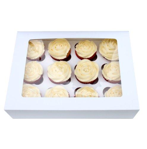 Turtle Products Box für 12 Cupcakes, mit Sichtfenster und Einlage