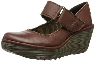 Fly London Women's Yag Court Shoes P500234022 Tan 6 UK, 39 EU