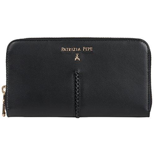 Patrizia Pepe portafoglio 20 cm nero
