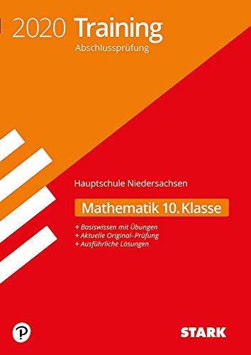 STARK Training Abschlussprüfung Hauptschule 2020 - Mathematik 10. Klasse - Niedersachsen