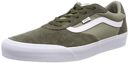 Vans Palomar, Sneaker Uomo, Verde ((Suede/Canvas) Grape Leaf/Laurel Oak Vg7), 45 EU