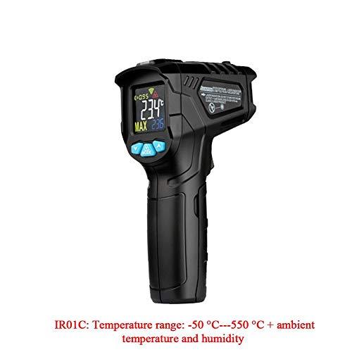SOWLFE Termómetro infrarrojo Digital, termómetro Digital, termómetro de Cocina sin Contacto, Pistola...