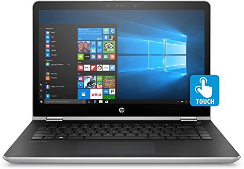 HP 14-BA002NS - Portátil de 14' (Intel Core i5-7200U, RAM de 8GB, Disco Duro 1 TB, Windows 10 Home) Color Plata - Teclado QWERTY español