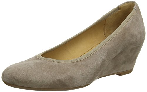 Gabor  Fantasy, Damen Pumps Beige Beige (Beigefarbenes Wildleder) 40 EU Mary Jane Platform Wedge