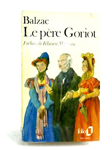 Le Père Goriot par Honoré de Balzac