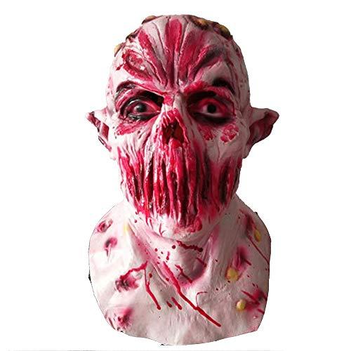 Kostüm Teenager Jungs Scary Für - FWwD Halloween Maske, Horror Maske Kopf Halloween Maske Shantou Maske Scary Atemberaubende Party Party Parodie Latex Maske Bar Geburtstagsfeie