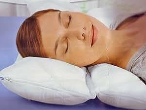Meradiso coussin 2 compartiments pour un sommeil calme dimensions :  40 x 80 cm