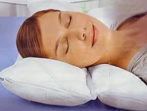 Meradiso Zwei-Kammer Kissen für einen ruhigen erholsamen