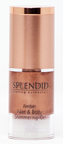 SPLENDID Styling Essentials Amber Face & Body Shimmering-Gel, 15 ml - Amber Body Cream