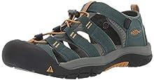 KEEN Newport H2 Hiking Sandals, Green (Green Gables/Wood Green Gables/Wood), 12 UK 31 EU