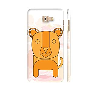 Colorpur The Little Dog Printed Back Case Cover for Samsung C7 Pro