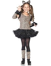 Leg Avenue - 5-Teiliges Leopardenkostüm - C48129
