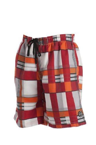 CMP 3R50927 Short de bain pour homme rouge - malboro-orange