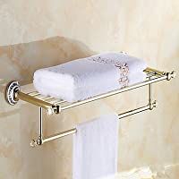 Accessori da bagno qmm, Mensole in vetro Neoclassicismo - Montaggio