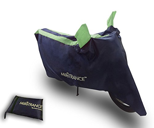Mototrance Sporty Arc Blue Green Bike Body Cover For Yamaha R15  available at amazon for Rs.269
