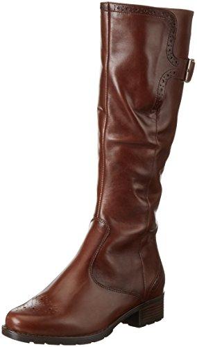 araLiverpool-St - Stivali alti con imbottitura leggera Donna , Marrone (Braun (Marrone 75)), 38.5 EU