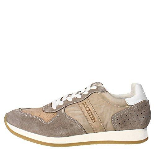 Docksteps DSE103417 Sneakers Uomo Camoscio/nylon Taupe Taupe 43