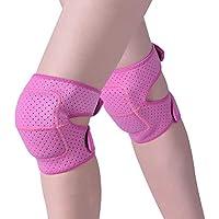 Hivexagon Rodillera Transpirable y Anti Deslizante de Esponja Gruesa para Yoga, Bailes, Ciclismo, Correr SP133