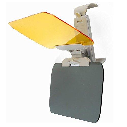 HOTSYSTEM Auto Sonnenblende Sonnenschutz Blendschutz Frontscheibe Blendscheinwerfer für Tag- und Nachtfarten 31 x 12 x 0.25cm