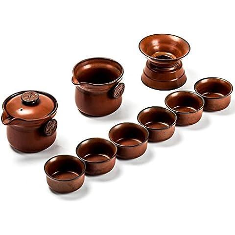 CGHUA Ceramica dipinta a mano in gres porcellanato, porcellana gongfu