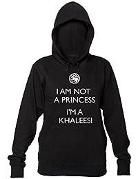 Im Not A Princess Im Khaleesi Sudadera con Capucha para Mujer