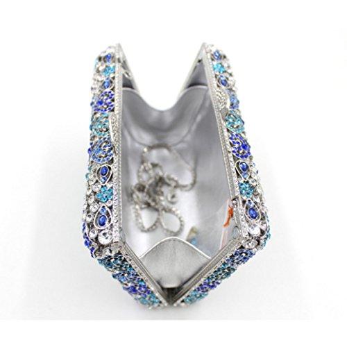 Sacchetto Di Banchetto High-end Del Sacchetto Di Sera Di Diamante Di Lusso Delle Donne C