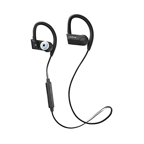 Jabra Sport Pace Wireless Bluetooth Kopfhörer (kabelloser Stereo Sport-Kopfhörer, geeignet für Handy, Smartphone, Tablet und PC) schwarz