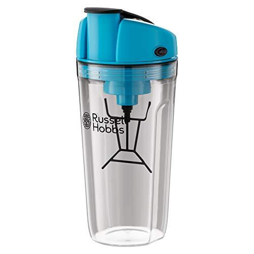Russell Hobbs 24880-56 - Mezclador InstaMixer, 1,5W, vaso de 600l, 2 botones 1 sola velocidad, recargable con USB, indicador LED, bateria de iones de lítio incluida