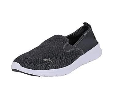 Puma Unisex Adult Flex Essential Slip On Iron Gate Running Shoes-11 UK (46 EU) (12 US) (36527304_11)