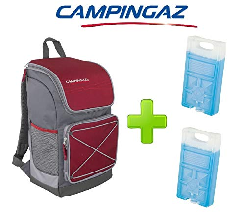 ALTIGASI Sac Thermique à Dos Thermique BacPac Urban 30 litres Campingaz Prestation jusqu'à 11 Heures + 2 pièces Freez Pack m10