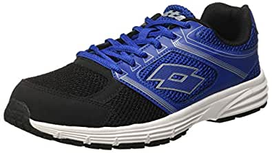 Lotto Men's Fausto Blue and Black Running Shoes-6 UK/India (40 EU)(S7293)