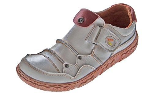 Damen Comfort Leder Schuhe Schwarz Wei