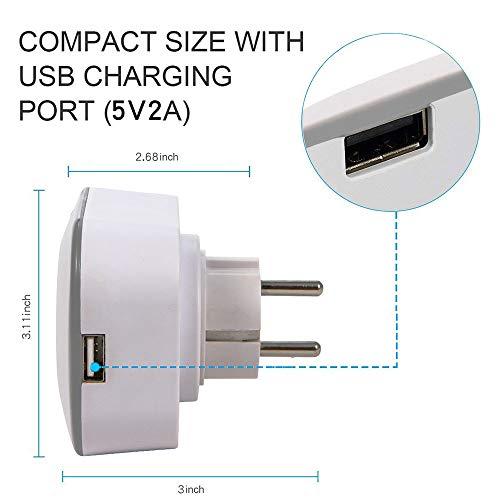 WMIAO WiFi Smart Plug Environnement, Mobile APP Remote Control Timing/Télécommande Prise De Commutateur Alexa Voice Control Goole Assistabt,... 6