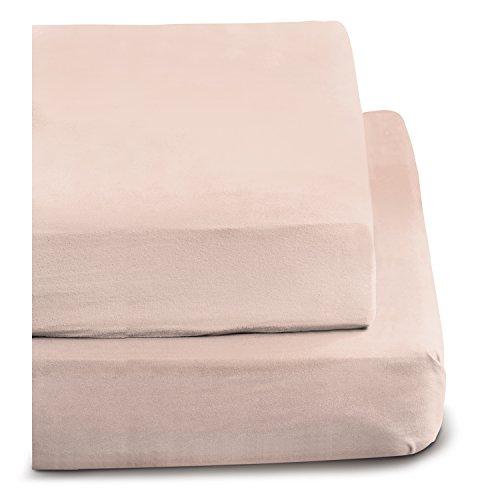 Irisette 0006-63 rose - Bajera ajustable, 140 cm x 200 cm, color rosa