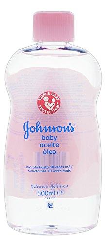 Johnsons & Johnsons Baby Öl - die ideale Pflege für trockene Haut - für Sie und Ihr Baby/ 500ml/ Babyöl