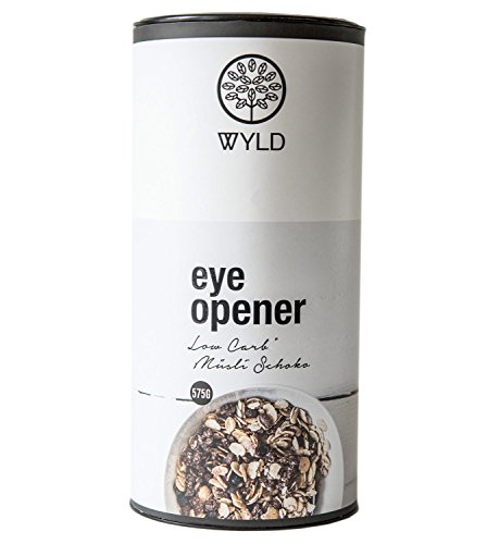 "WYLD Bio Low Carb Schoko-Müsli ""Eye Opener"""