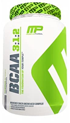 BCAA 3:1:2, Unflavored - 215g by MusclePharm