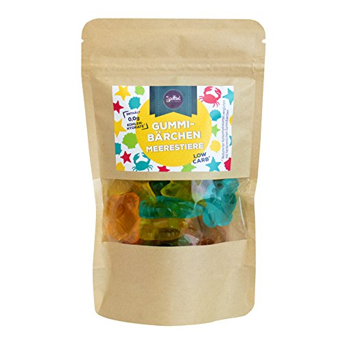 Low Carb Meerestiere Gummibärchen von Soulfood LowCaberia 160g
