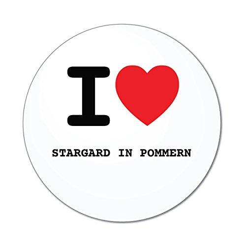JOllify Aufkleber - STARGARD IN POMMERN - Farbe: Design: I Love - Ich Liebe -